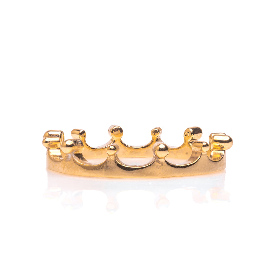 The Crown Ring - 14K Yellow Gold