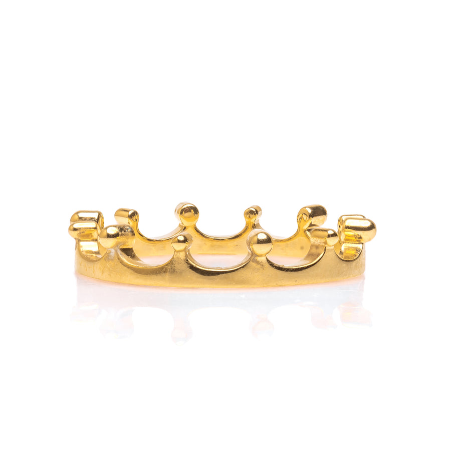 The Crown Ring - 18K Yellow Gold