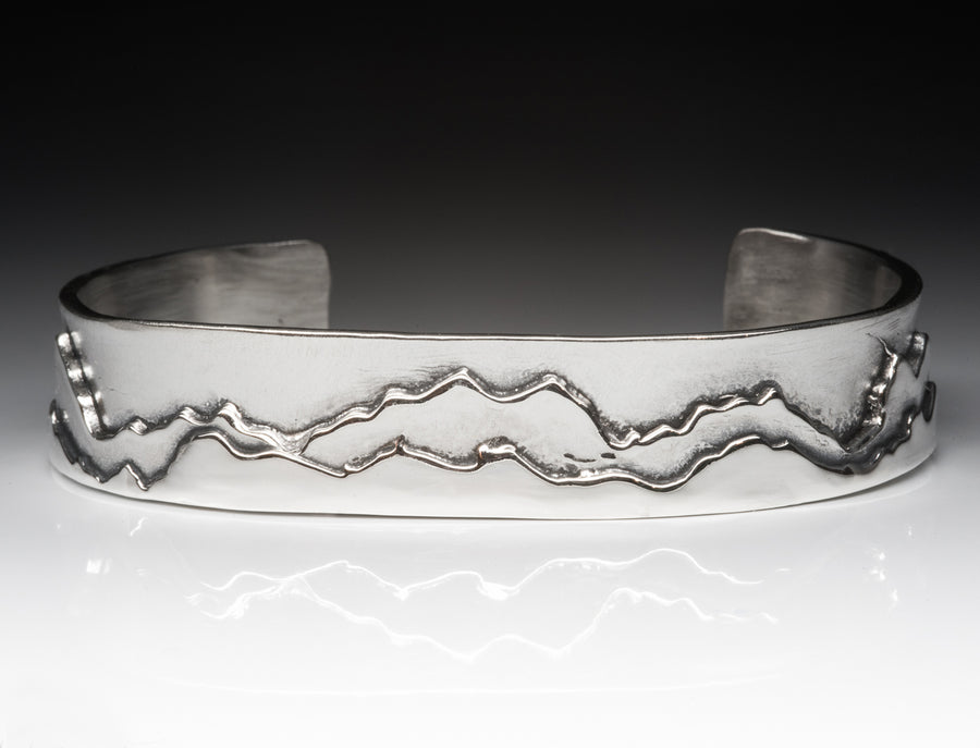 Shadowed Mountain Cuff