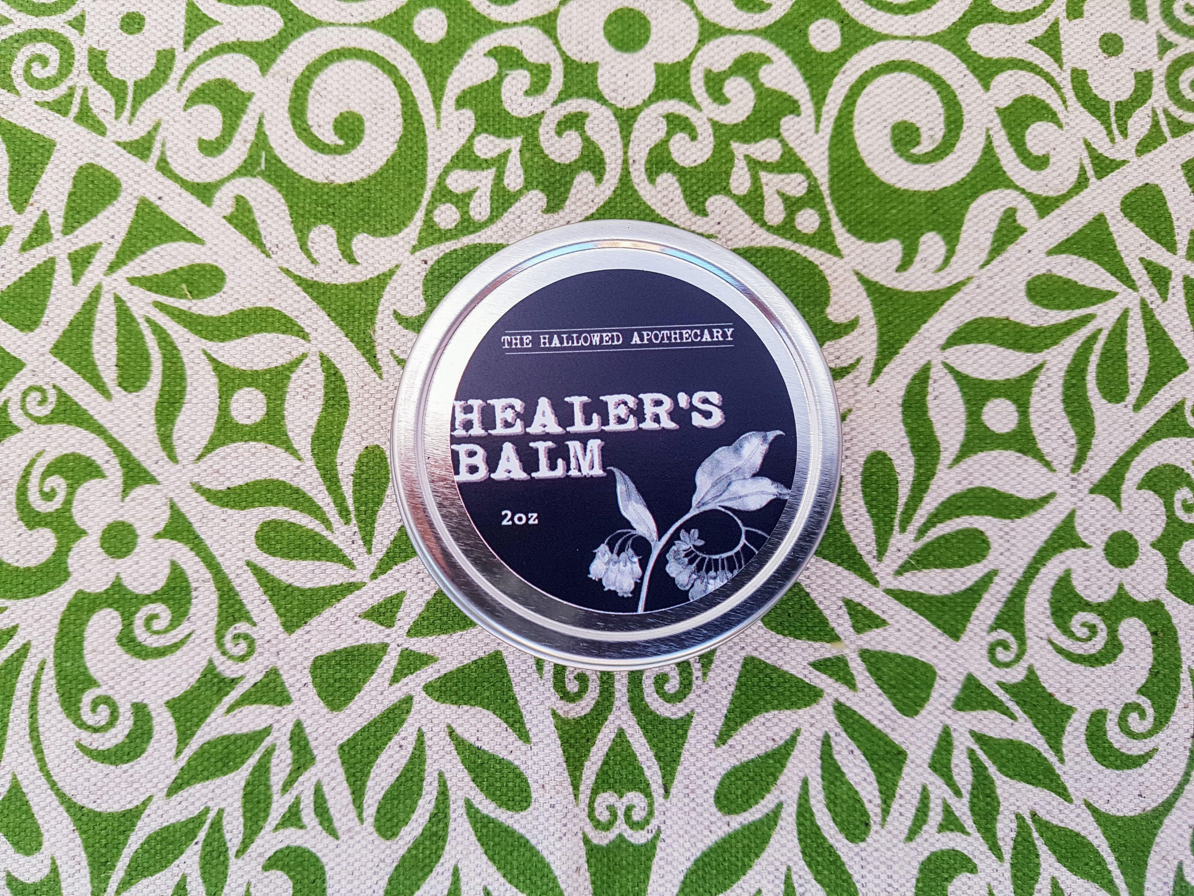 healer's balm is an all heal salve for various skin issues