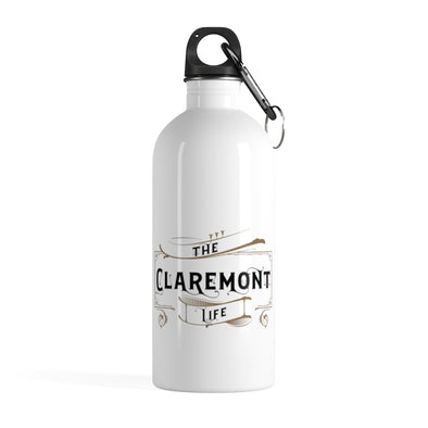 Claremont Life, Stainless Steel Water Bottle