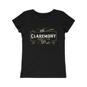 Girls Claremont Life, Princess Tee
