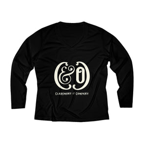 Women's C&Co. Long Sleeve Performance V-neck Tee