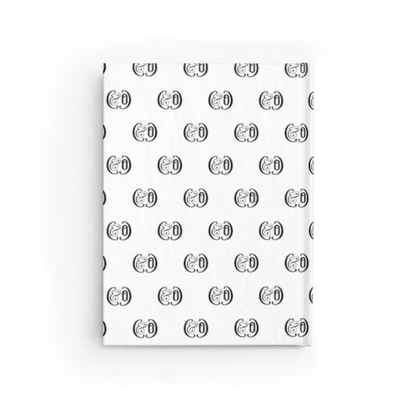 C&Co./Pattern (White), Journal - (Line Pages)