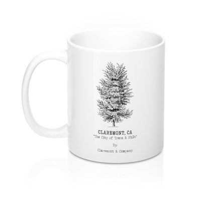 Claremont Elm Tree, Mugs