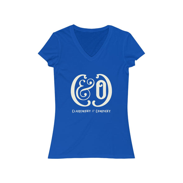 Women's C&Co. Short Sleeve V-Neck Tee