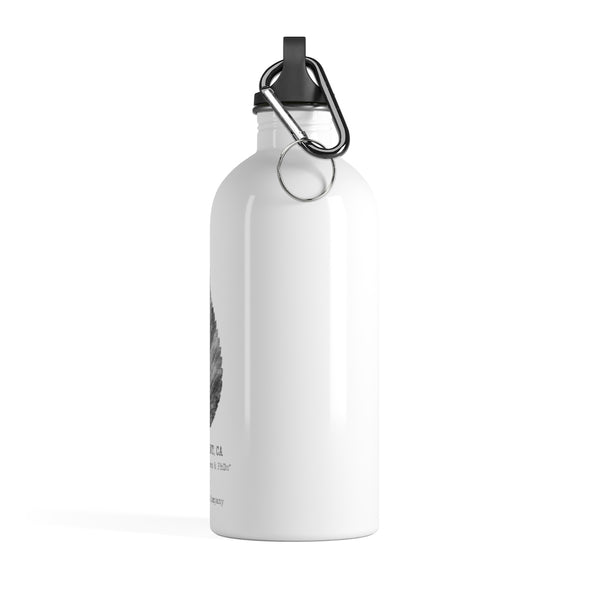 Claremont Elm Leaf, Stainless Steel Water Bottle