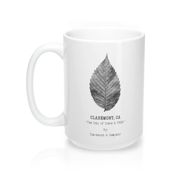 Claremont Elm Leaf, Mugs