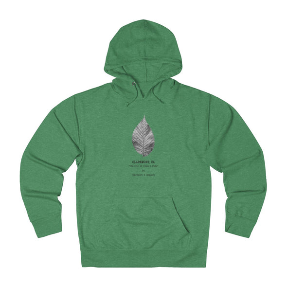 Claremont Elm Leaf, French Terry Hoodie