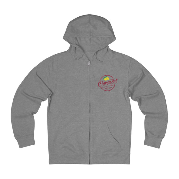 Claremont Lemons, French Terry Zip Hoodie