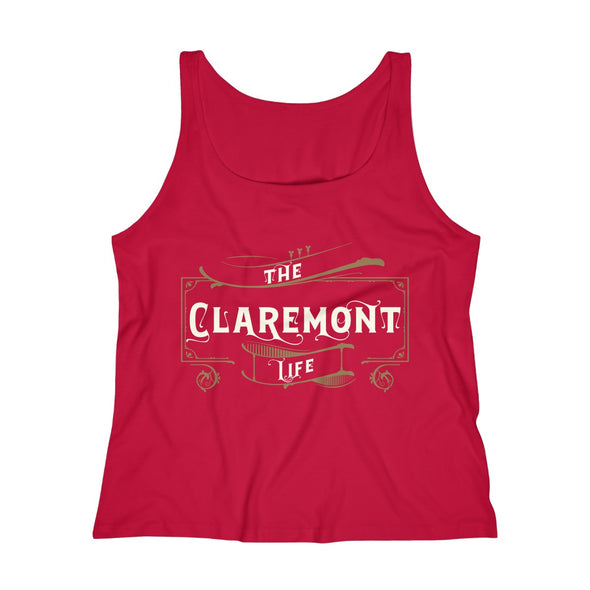 Women's Claremont Life, Relaxed Jersey Tank Top
