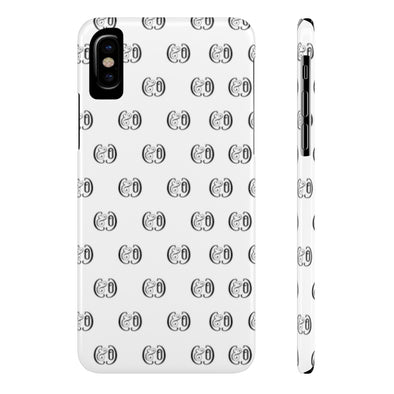 C&Co. (White) Case Mate Slim Phone Cases