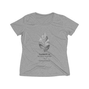 Women's Claremont Elm Leaf, Wicking Tee