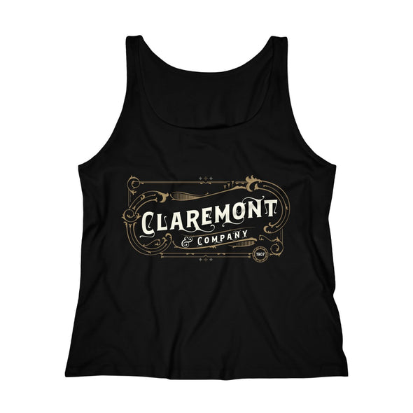 Women's Claremont & Company, Relaxed Jersey Tank Top