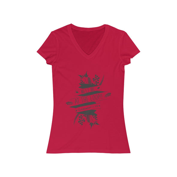 Women's Claremont Meet Me at the Loop, Short Sleeve V-Neck Tee