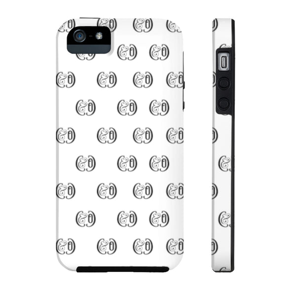 C&Co. (White) Case Mate Tough Phone Cases