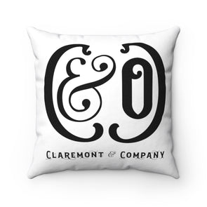 C&Co. (White), Square Pillow