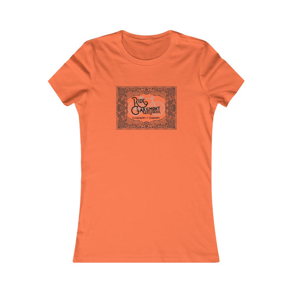 Women's Ride Claremont, Favorite Tee