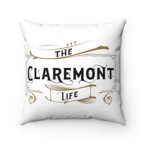 Claremont Life (White), Square Pillow
