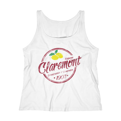 Women's Claremont Lemons, Relaxed Jersey Tank Top