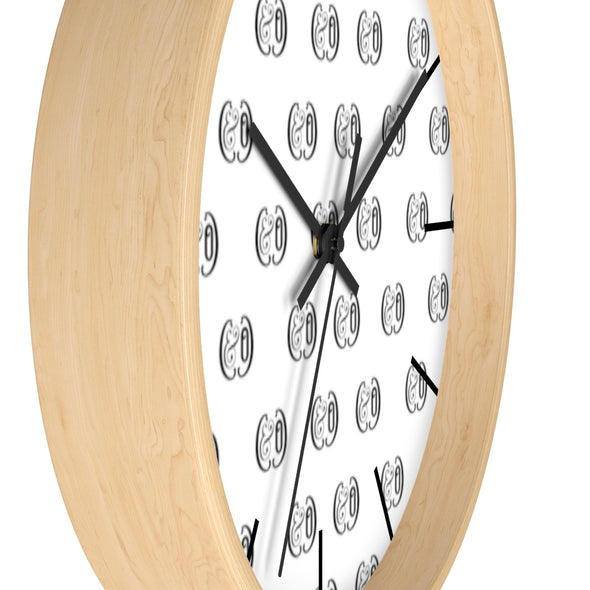 C&Co. (White) Wall clock