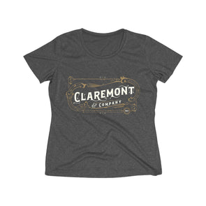 Women's Claremont Life, Wicking Tee