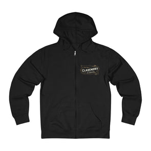 Claremont & Company, French Terry Zip Hoodie