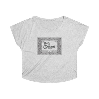 Women's Ride Claremont, Tri-Blend Flowy Tee