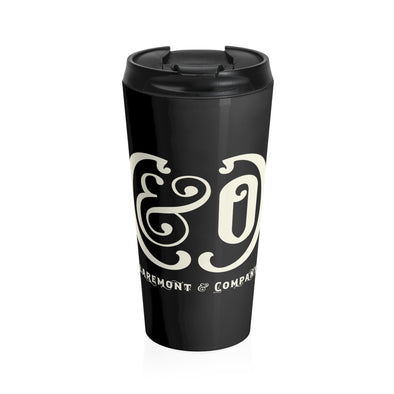 C&Co. (Black), Stainless Steel Travel Mug