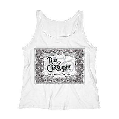 Women's Ride Claremont, Relaxed Jersey Tank Top