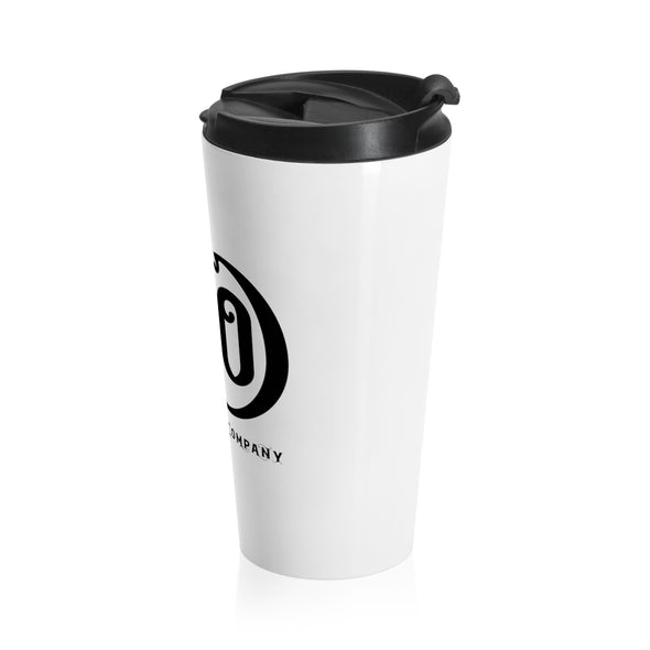 C&Co. (White), Stainless Steel Travel Mug