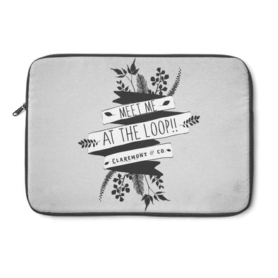 Claremont Meet Me at the Loop! Laptop Sleeve