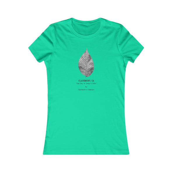 Women's Claremont Elm Leaf, Favorite Tee