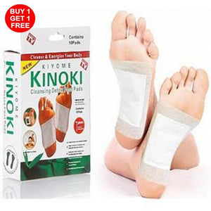 CLEANSING DETOX FOOT PADS - BUY 1 TAKE 1