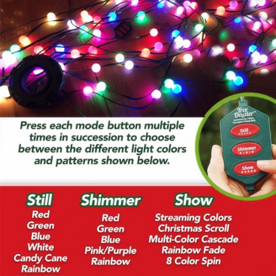 Tree LED String Lights Colourful Changeable Twinkling Night  ⭐⭐⭐⭐⭐