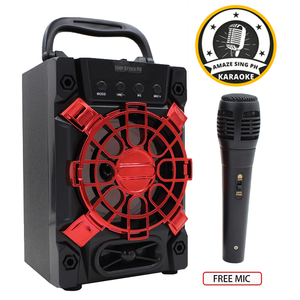 Portable Wireless Karaoke w/ Free Mic