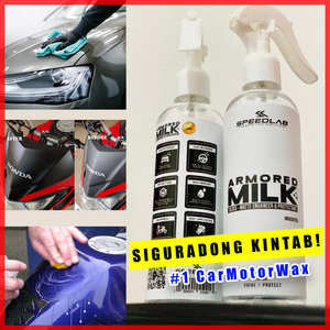 Armored Milk Car / Motor Wax ( Shine & Protect )