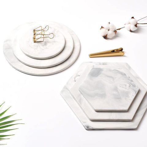 antigona marble serving plates
