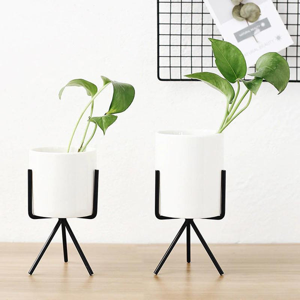 athens flower pots 3pc set