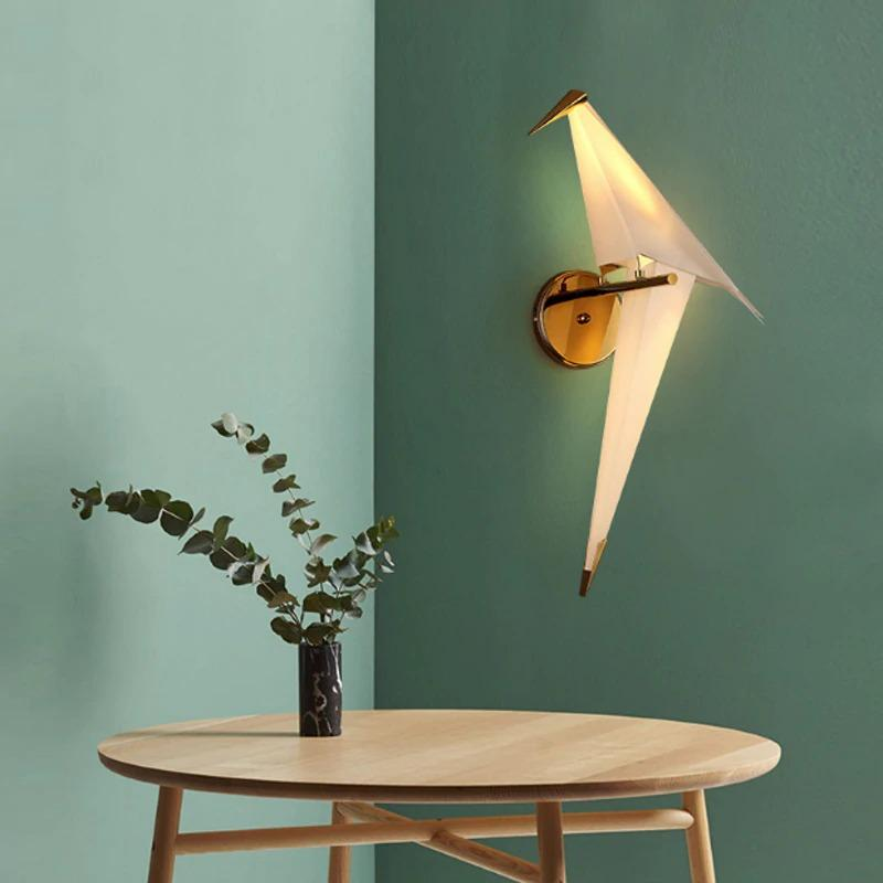 bird wall lamp