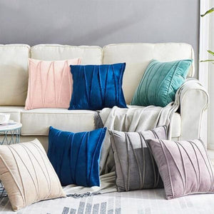 chiara velvet pillows