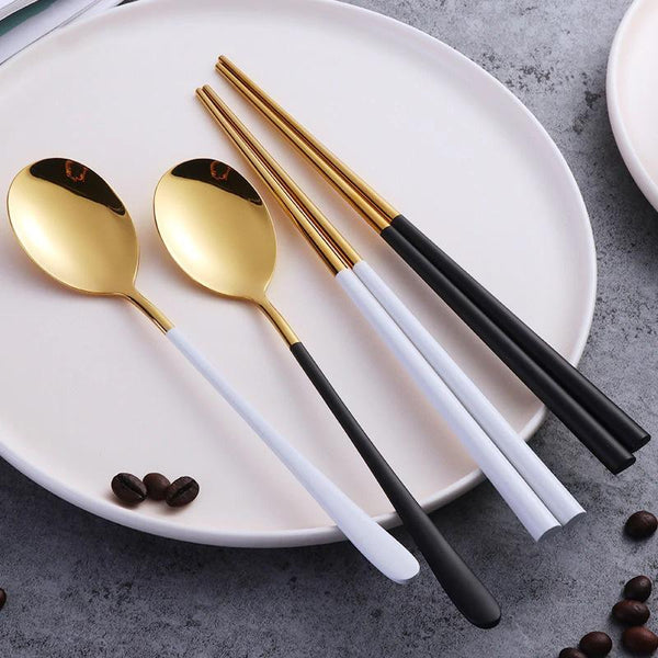 emiko chopsticks spoon set