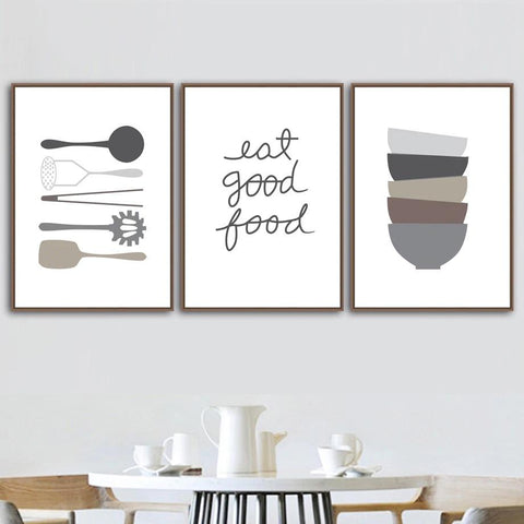 food lovers canvas