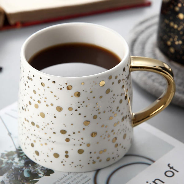 golden drops mug