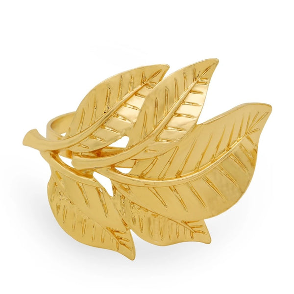Leaf Napkin Rings 6pc Set
