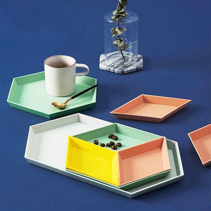 mix and match geometric plates