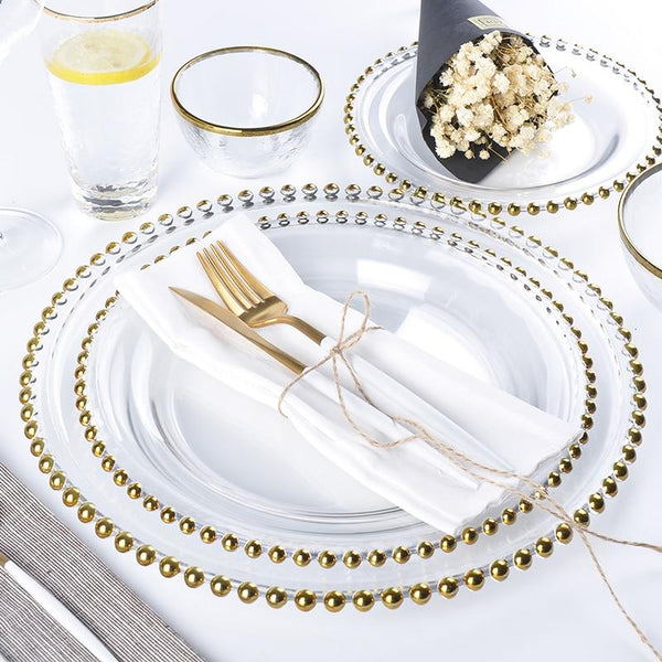 pearl glass plates