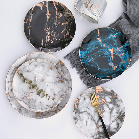 thunder marble plates