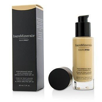 BAREMINERALS BarePro Performance Wear Liquid Foundation SPF20 Size: 30ml/1oz