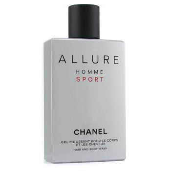 CHANEL Allure Homme Sport Hair & Body Wash (Made in USA) Size: 200ml/6.8oz